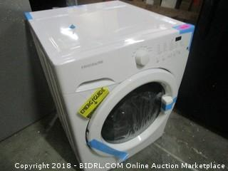 Frigidaire Front Load Washer MSRP* $899 (Powers on and Spins/ Possible Electronic Issue)