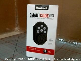 Kwikset Smart code touchpad Electronic Deadbolt