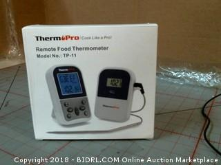 Therm Pro Remote Food Thermometer
