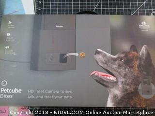 Pet cube HD Treat Camera to see,talk and treats your dog