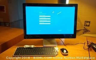 HP Cracked Screen