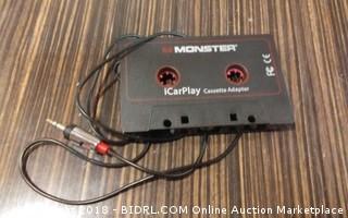 Monster iCar Play Cassette Adapter