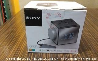 Sony  Powers On