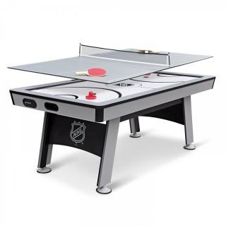 NHL Power Play Hover Hockey Table with Table Tennis Top, 80-inch (Retail $296.00)