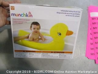 Inflatable Safety Duck Tub
