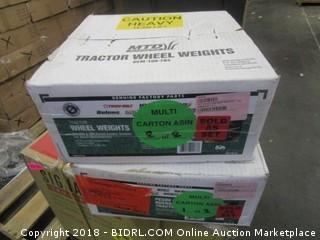 MTD Genuine Parts 100lb Wheel Weight Set (Retail $123.00)