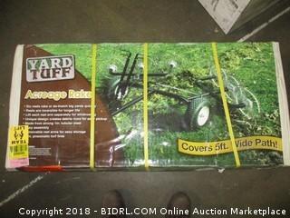 Yard Tuff ACR-500T Acreage Rake, 60-Inch (Retail $419.00)