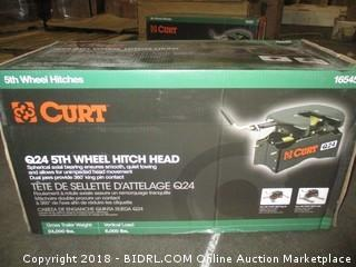 CURT 16047 Q24 5th Wheel Hitch with Ram Puck System Legs (Retail $747.00) INCOMPLETE