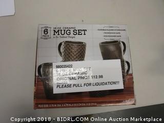 8 Mug Set