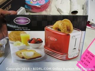Nostalgia Two Slice Toaster
