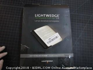 Lightwedge Rechargeable Book Light