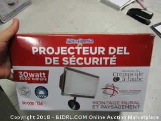 Security LED Flood Light