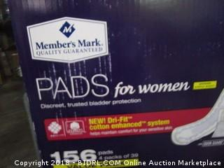 Pads for Women Bladder Protection