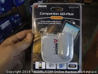Wagan Companion 60-Plus Travel Charger