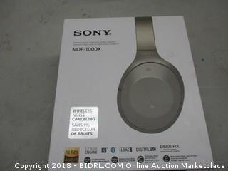 Sony MDR-1000X Wireless Noise Canceling Stereo Headset