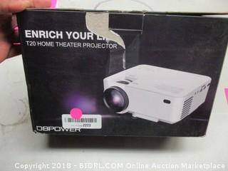DB Power T20 Home Theater Projector