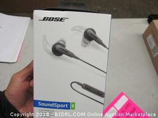 Bose In Ear Headphones Sound Sport