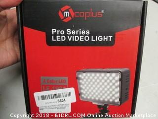 Pro Series LED Video Light