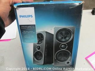 Philips Multimedia Speakers