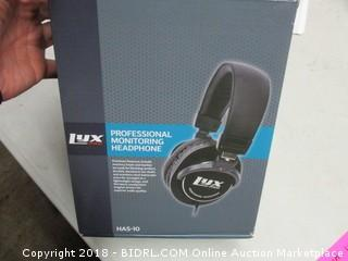 Lyx Pro Professional Monitoring Headphone