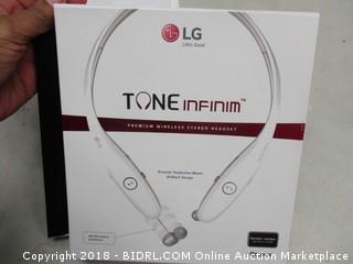 LG Tone Infinium Wireless Headphones