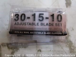 Adjustable Blade Set