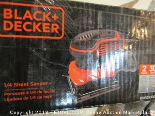 Black + Decker Sheet Sander