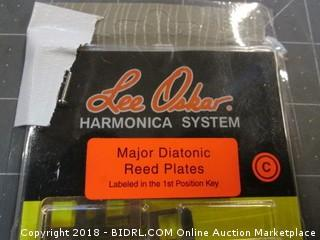 Harmonica System  major Diatonic Reed Plates
