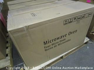 Microwave Oven Powers on