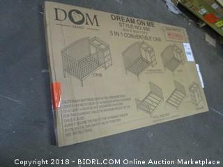 dream On Me 5 in 1 Convertilbe crib Incomplete Set