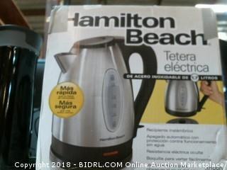 Hamilton Beach Electric Kettle