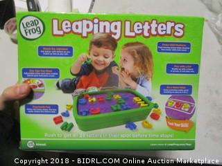 Leap Frog Leaping Letters