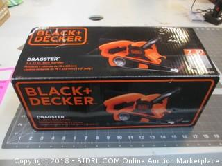 Black + decker Belt sander