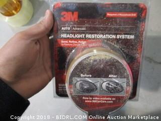 3M Headlight Restoration System