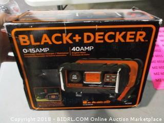 Black + Decker 40 Amp Engine Start