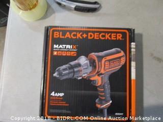 Black + Decker Matrix Drill/Driver