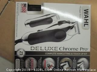 Wahl Deluxe Chrome Pro Clippers