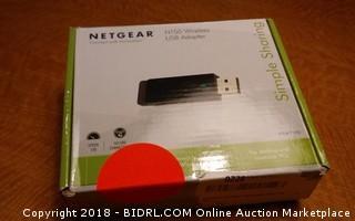 Netgear wireless USB Adapter
