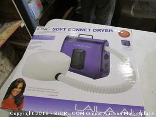 Ionic Soft Bonnet Dryer