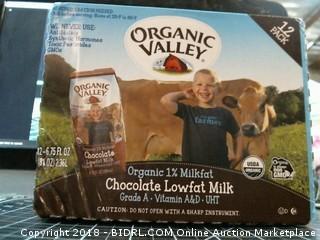 Organic Valley Chocolate Lowfat Milk