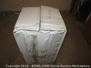 """Lucid 3"""" Gel Memory Foam Mattress Topper"""