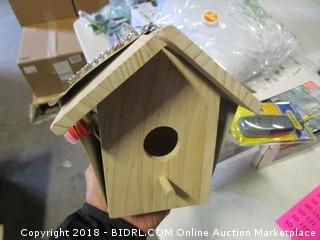 Paint a Birdhouse Kit