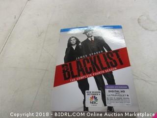 Blu Ray Blacklist Complete 4th Season