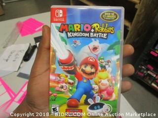 Nintendo Mario Kingdom Battle Game