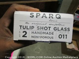 Tulip Shot Glass