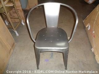 Lot #FX0163 Jackson Metal Tub Chair