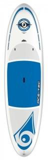 BIC Sport ACE-TEC Original Stand up Paddleboard, White/Blue