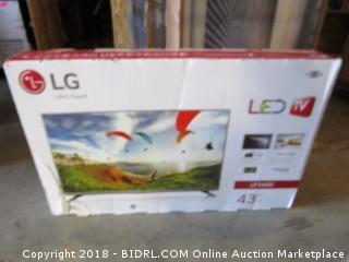 "LG LED TV 43"""