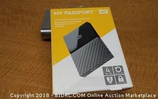 My Passport Auto Backup, Password Protection
