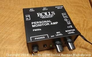 Rolls Personal Monitor Amp